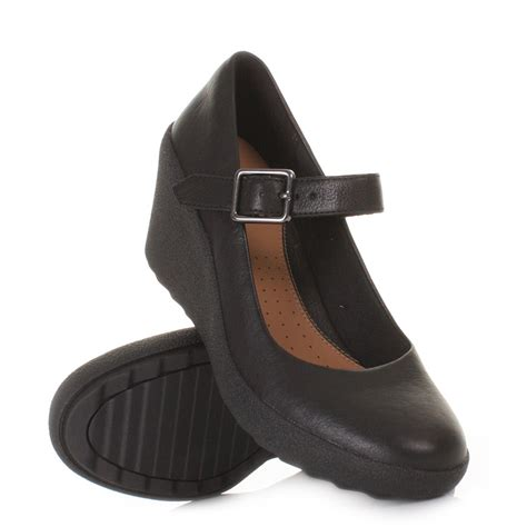 black leather wedge shoes wedge sandals