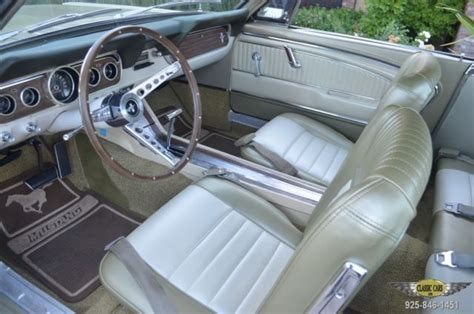 1966 Mustang Pony Interior classic 1966 mustang beautfiully restored recent