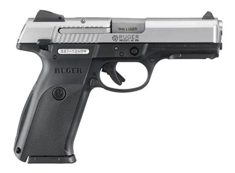 ruger products ruger 174 sr9 174 centerfire pistol model 3301