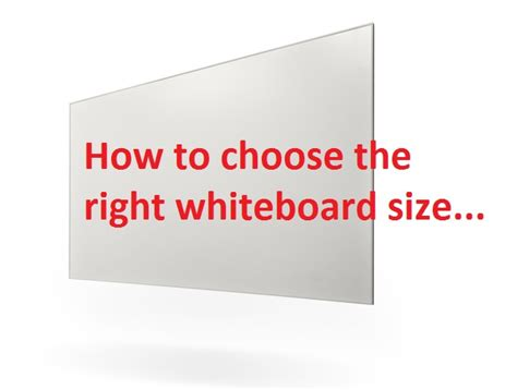 how to measure girth how to choose a whiteboard size for classrooms dib
