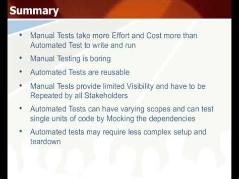website testing tutorial manual automated testing vs manual testing tutorial guide youtube