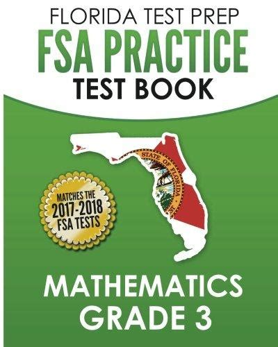 florida test prep fsa practice test book language arts grade 3 covers reading language and listening isbn 9781502517371 florida test prep fsa practice test