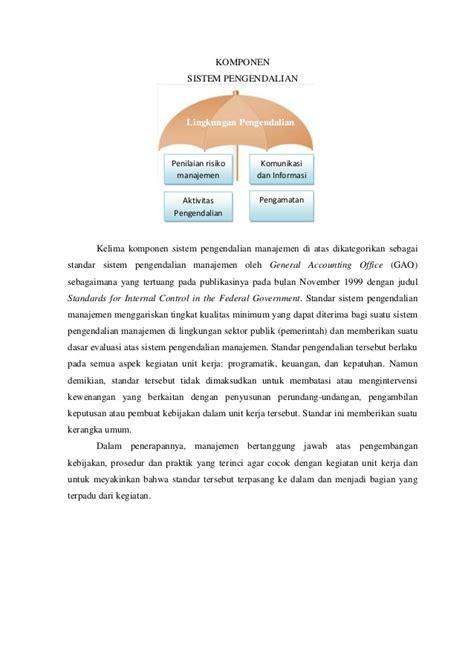 Buku Audit Sistem Informasi Lima Aspek Audit Sistem Informasi sistem pengendalian manajemen
