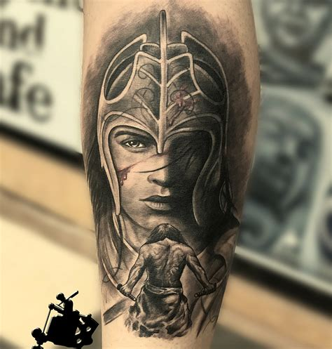 warrior samurai tattoo goa tattoo center