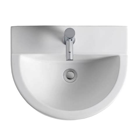 bede toilet the bath co camberley 2 tap hole full pedestal basin