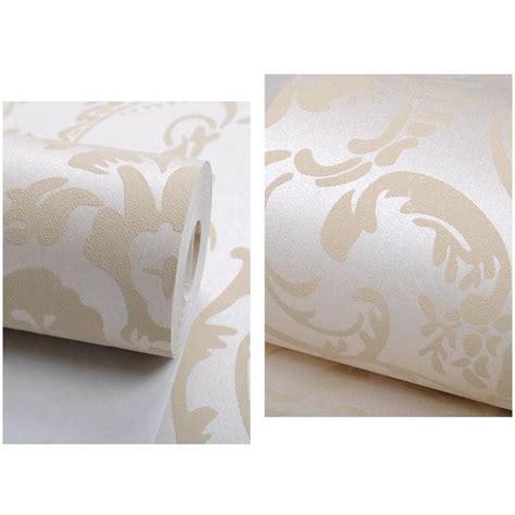 Wallpaper Dinding Glossy Modern European Style wallpaper dinding glossy modern european style white jakartanotebook