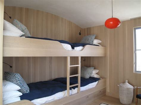 Custom Bunk Beds Contemporary Los Angeles with Modern Floor Lamps