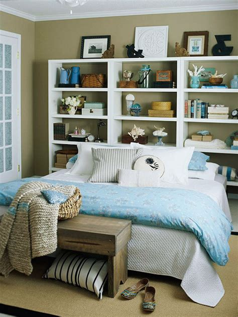 17 bookshelves that as headboards