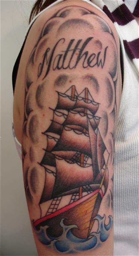 new school ship tattoo old school ship tattoo tattoo picture