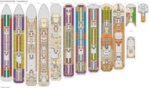 Cruise Ship Floor Plans by Carnival Destiny Deck Plans Cabin Diagrams Pictures