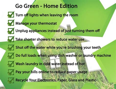 7 Tips On Going Green And Staying Green by Go Green Tips For Home Eco Friendly Go Green