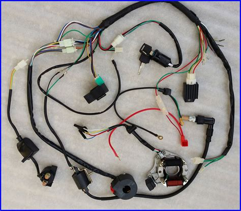50cc 70cc 90cc 110cc 125cc wire harness wiring cdi assembly atv coolster ebay