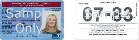 boat driving permit marine licence vicroads