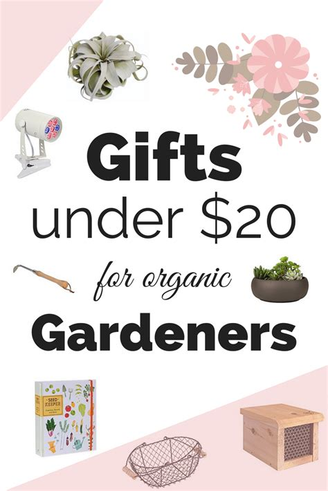 Gifts For Gardeners Who Everything by 20 Gifts For Organic Gardeners 20