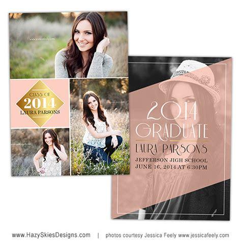 graduation announcements templates for photographers items similar to senior graduation announcement card