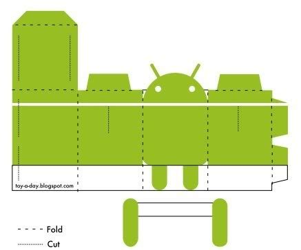 Android Papercraft - android papercraft android and papercraft