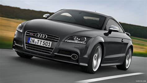 audi tts coupe competition  nimbus grey front