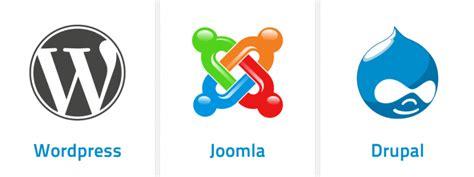 vs joomla vs drupal a and easy way to