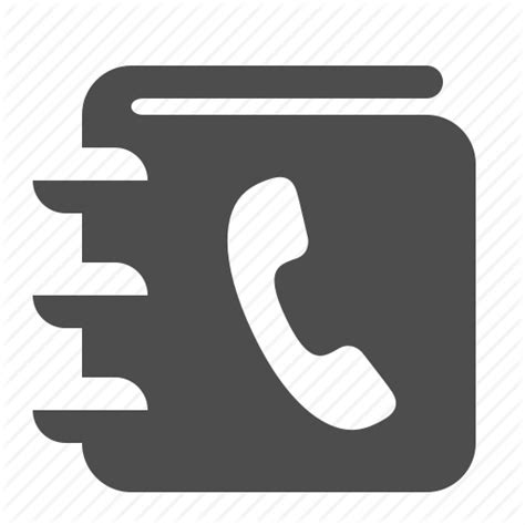 Phone Book Address Phone Directory Icon Free Icons
