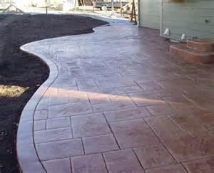 deck concrete x
