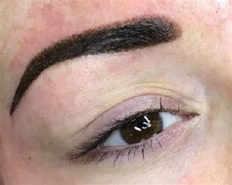 new eyebrow tattoo technique new ombre eyebrows coming permanent make up glasgow