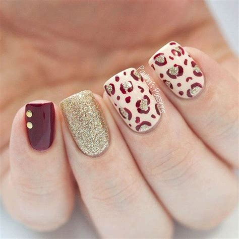 easy nail art print 50 stylish leopard and cheetah nail designs for creative