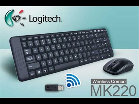 Keyboard Logitech K220 keyboard mouse wireless logitech mk220