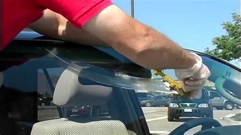 how to repair glass cracks car care tips put an end to windshield scratches sam