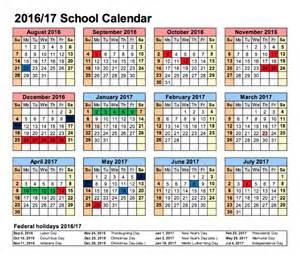 elementary calendar template school calendar state academy