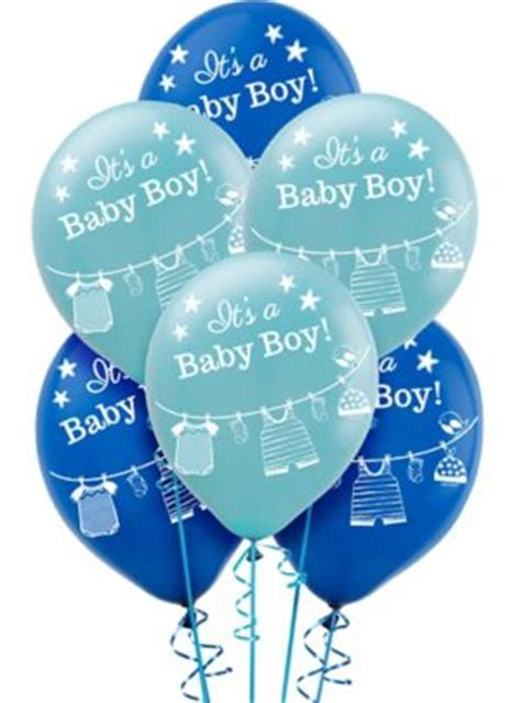 city balloons baby shower it s a boy baby shower balloons 15ct city