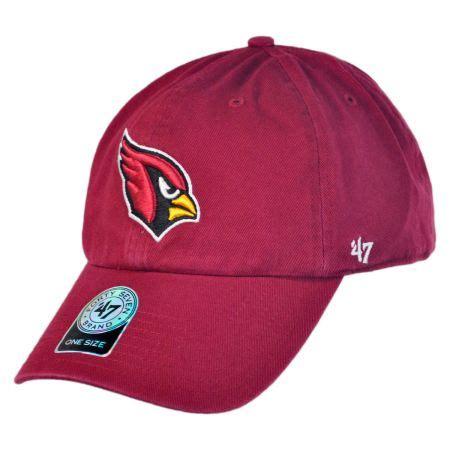 47 brand arizona cardinals nfl clean up strapback baseball