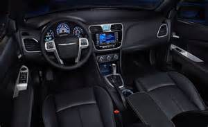 2011 Chrysler 200 Interior Car And Driver