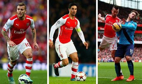 arsenal injury news arsene wenger given boost as wilshere arteta and debuchy