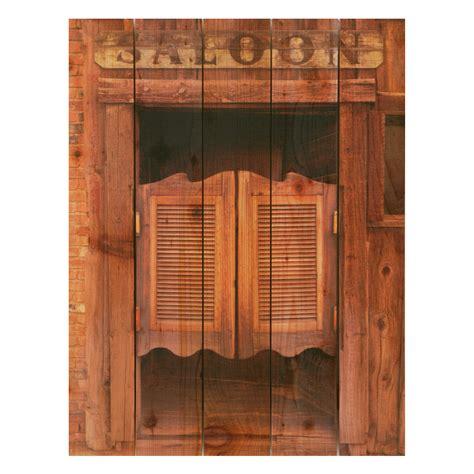 Door Saloon by Gizaun Saloon Door Indoor Outdoor Color Cedar Wall Wall At Hayneedle