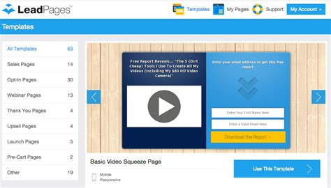 7 Killer Landing Page Tools For The Lazy Marketer Leadpages Webinar Template