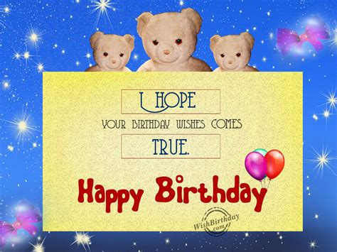 Happy Birthday Wishes Teddy Birthday Wishes With Teddy Bear Birthday Images Pictures