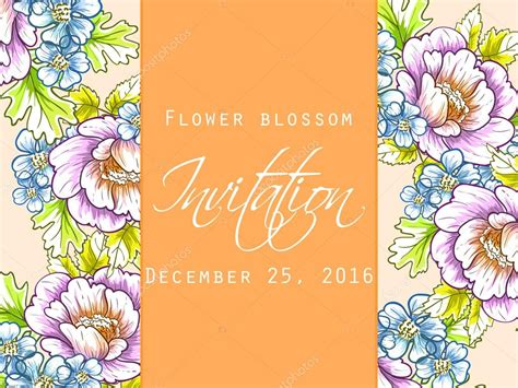 Wedding Invitations Card Stock by Wedding Invitation Card Stock Vector 169 All About Flowers