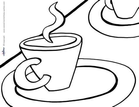 Free Coloring Pages Of Teacup Tea Coloring Pages
