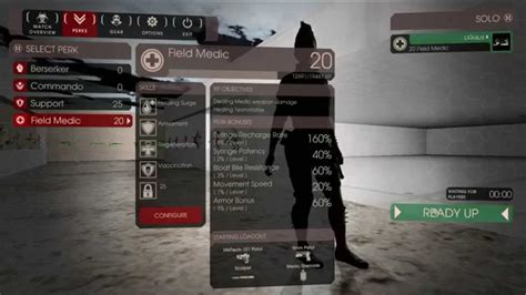 killing floor 2 easy and fast 25 level perks by ligala