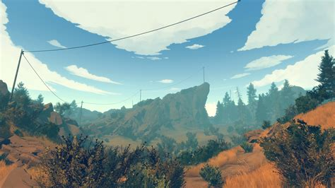 firewatch review campo santo games reviews  escapist