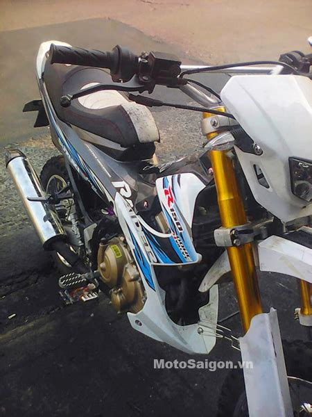 Modip Motor by Modifikasi Suzuki Satria F Karbu Jadi Motor Trail
