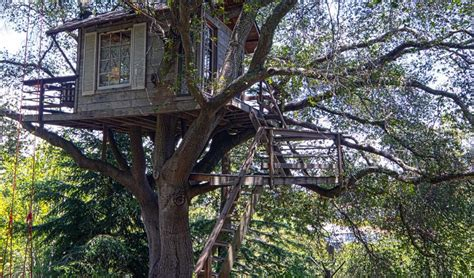 elements to include in a kid s treehouse to make it awesome