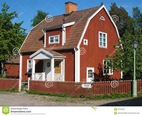typical home typical swedish house linkoping sweden stock image image 32102053