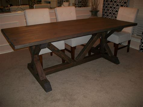 white fancy x farmhouse table modified diy projects
