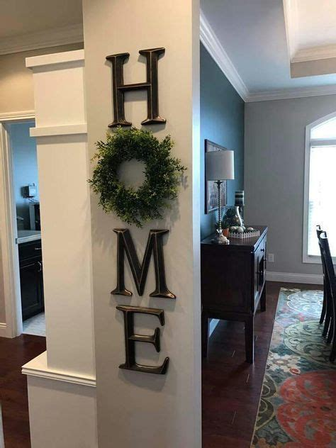 wooden letters home decor 25 best ideas about decorating long hallway on pinterest