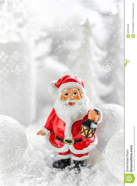 santa ckaus with snow decoration santa claus stock photo image 46230428