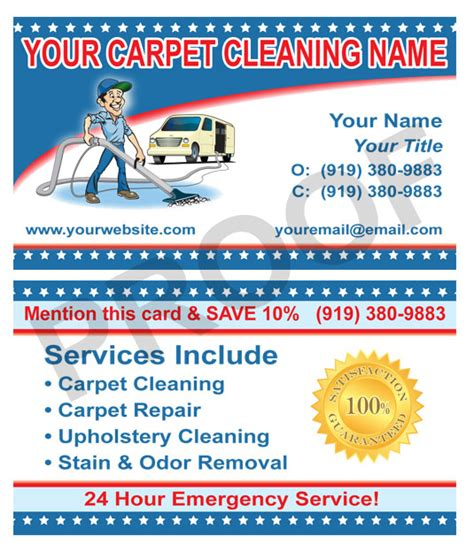 free carpet cleaning business card template free business cards for cleaning image collections card