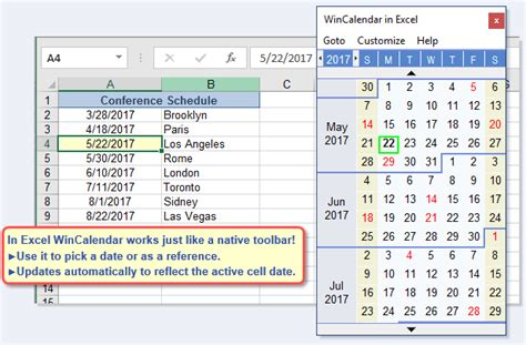 how to make a calendar popup in excel free excel pop up calendar and excel date picker