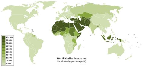 map of arab countries file world muslim population map png wikimedia commons