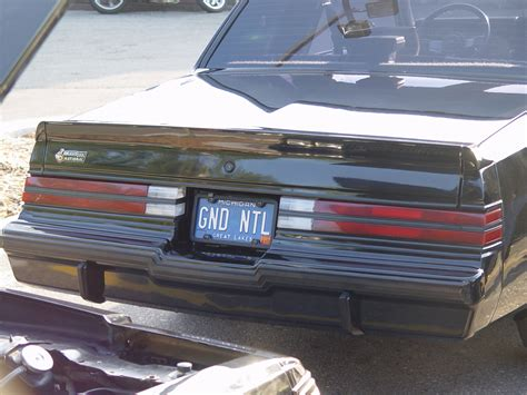 regal s vanity license plates on turbo regals